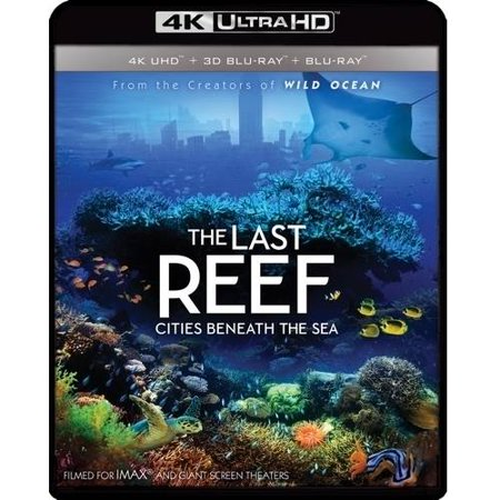 IMAX: The Last Reef: Cities Beneath the Sea (4K Ultra HD + 3D Blu-ray + (The Last Reef Cities Beneath The Sea)