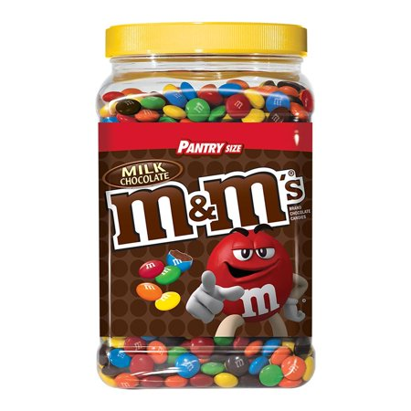 Product Of M&M'S Milk Chocolate Plastic Jar, Pantry Size (62 Oz.) - For Vending Machine, Schools , parties, Retail Stores](M&m For Halloween)