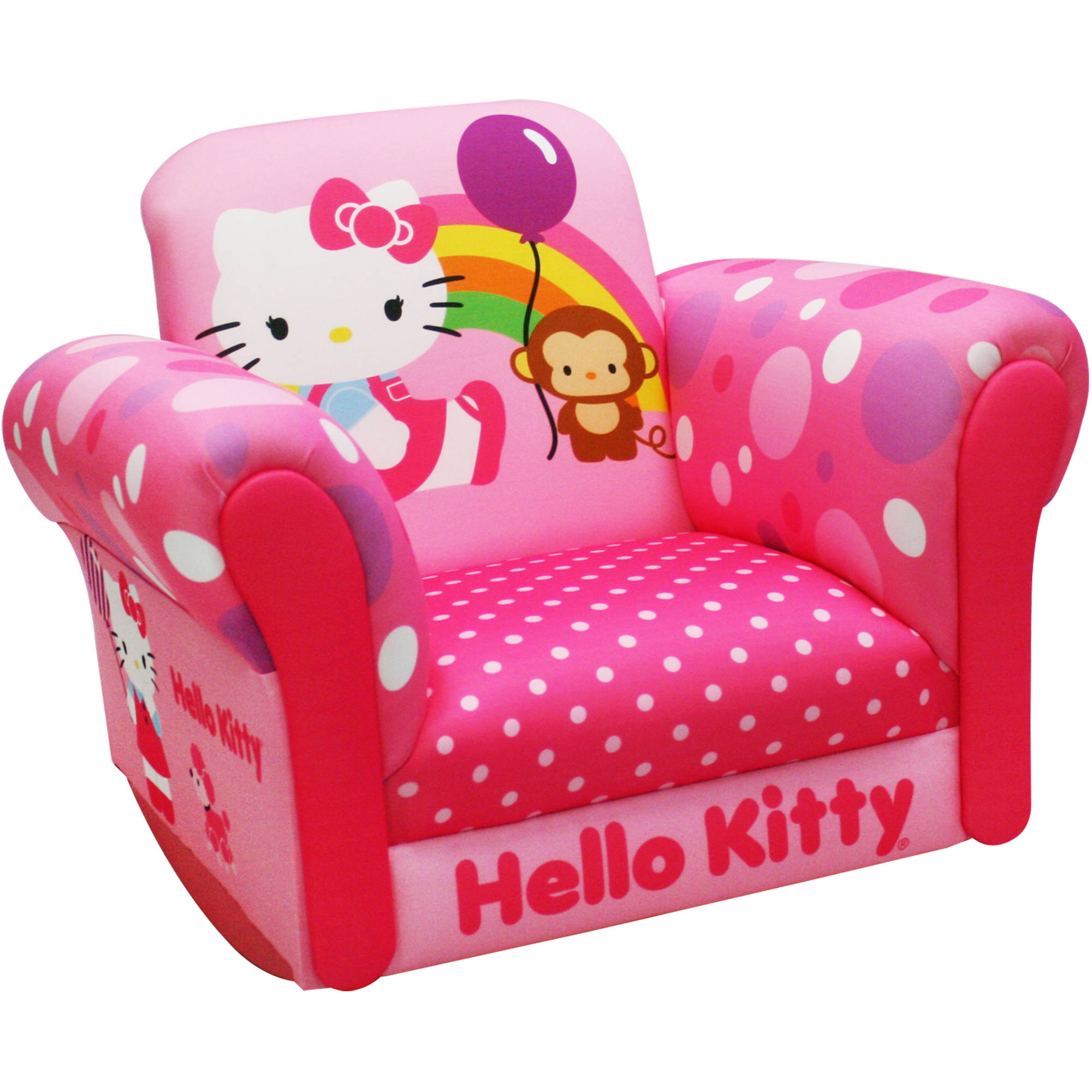 Hello Kitty Balloon Deluxe Rocker