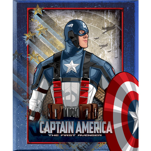 "Marvel Captain America 60"" x 50"" Fleece Throw"