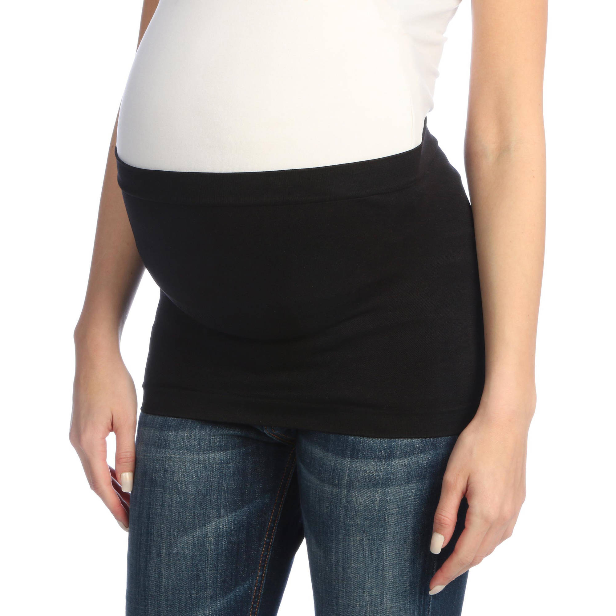 Nurture by Lamaze Maternity Plus-Size Seamless Everyday Belly Band