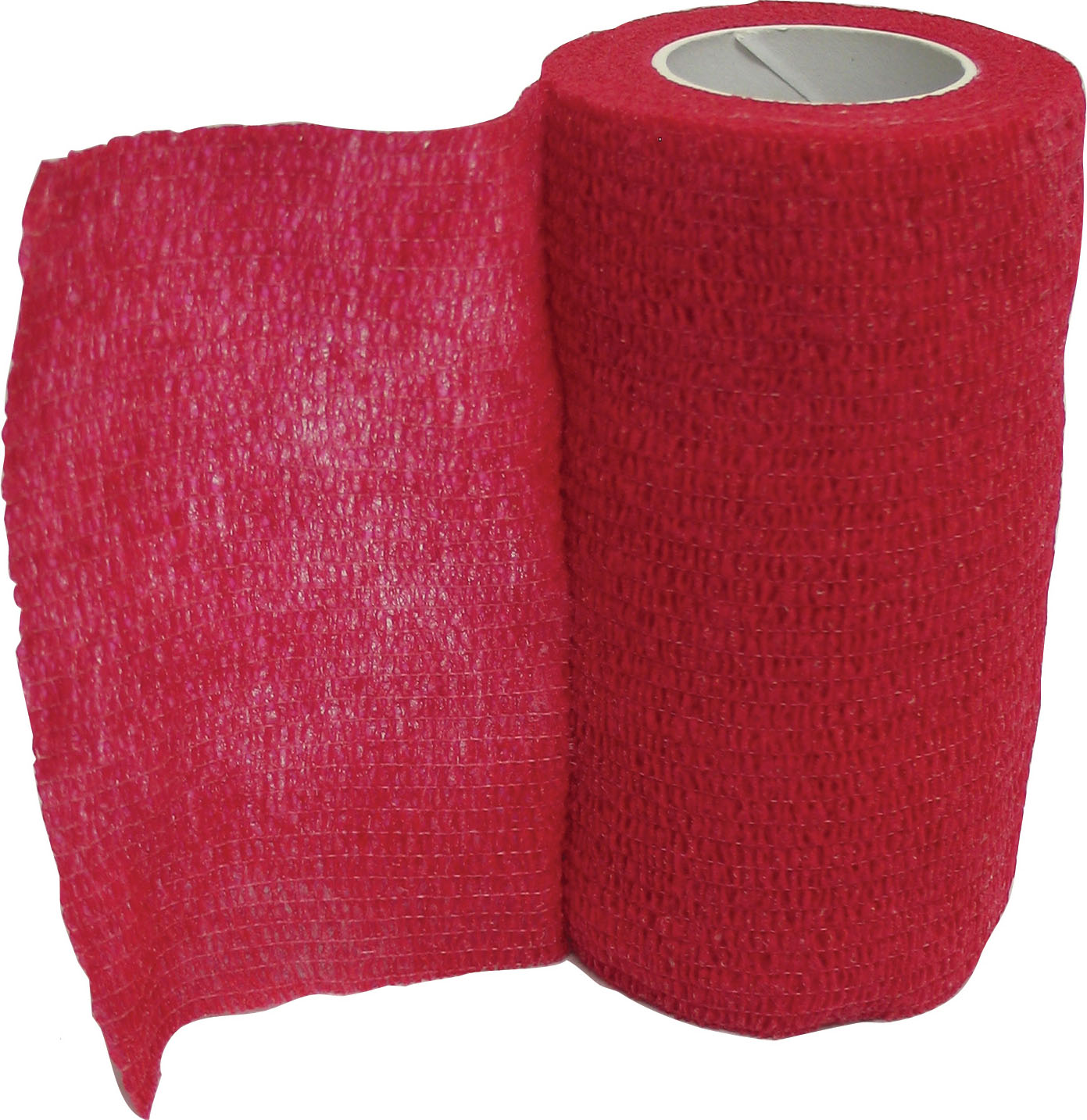 Animal Supplies Internat-Wrap-it-up Flexible Bandage- Red 4 In X 5 Ft