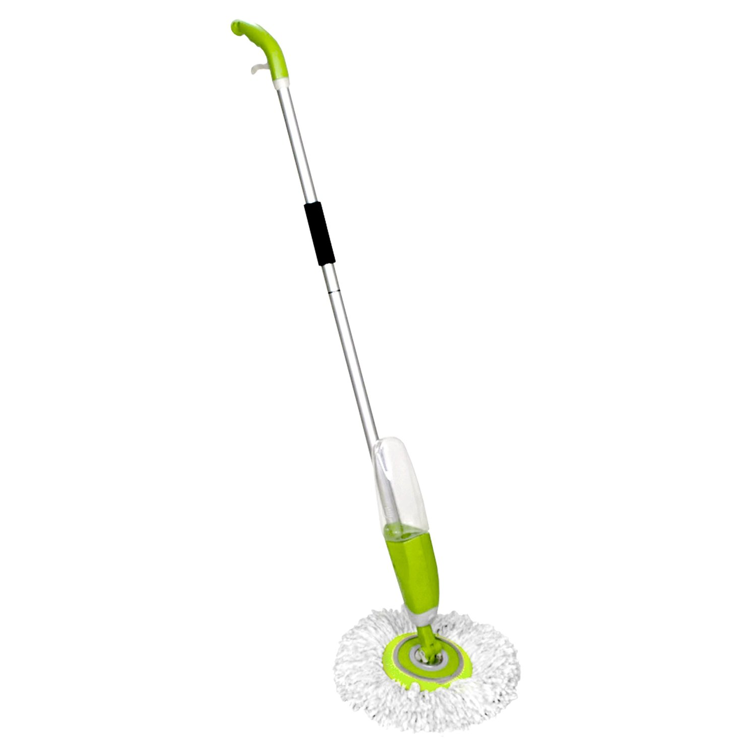 Shiwala Magic Mop, Super Absorbent Microfiber 360 Swivel Spray Mop