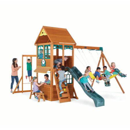 Wooden Swing Sets Walmartcom