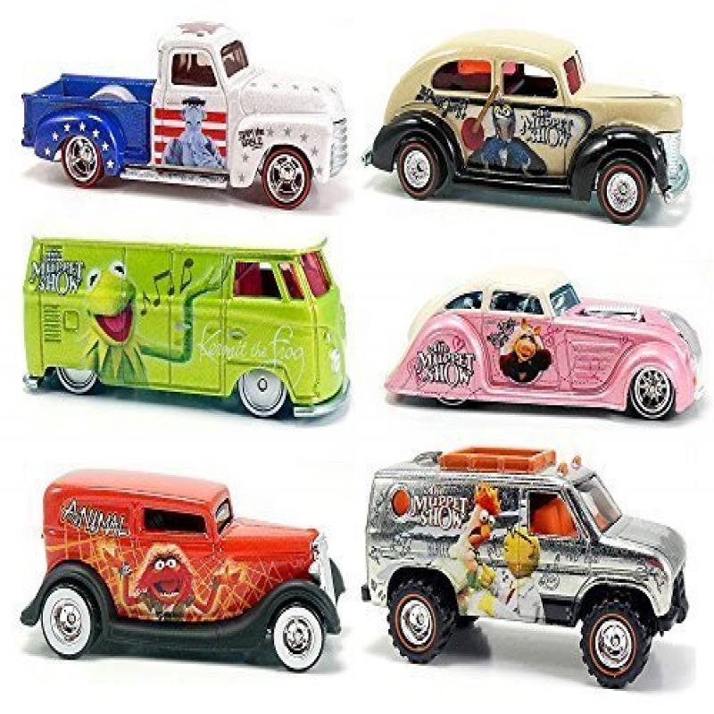 The Muppets Hot Wheels Compete Pop Culture Set 2014 Starr...