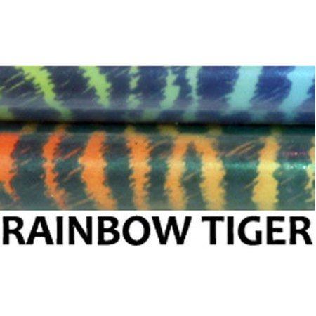 Z-Stix Made to Order Handmade Juggling Sticks-Flower Sticks-Devil Sticks (Kids 18'',Rainbow - Juggling Supplies