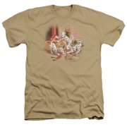Wildlife Wheres The Fire? Mens Heather Shirt