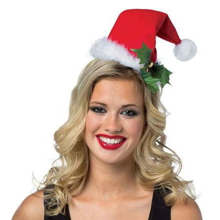 Santa Hat Headband For Women Halloween Accessory, One Size