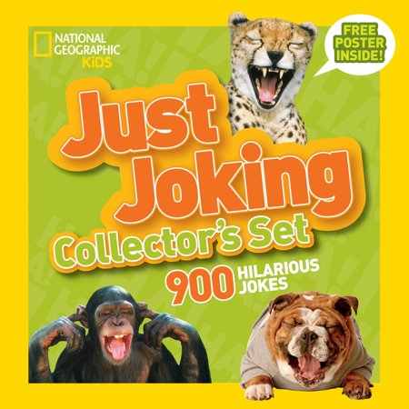 Funny Jokes About Halloween (National Geographic Kids Just Joking Collector's Set (Boxed Set) : 900 Hilarious Jokes About)
