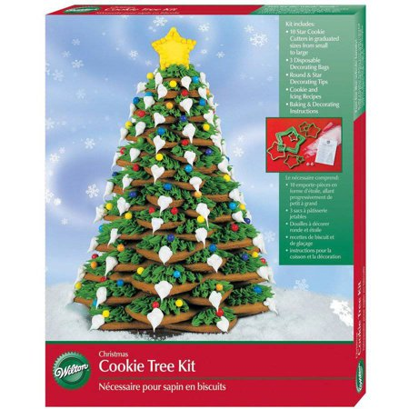 wilton cookie decorating kit christmas tree 1 ct 2104 1555