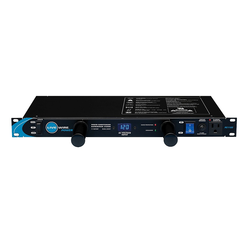Livewire 11-Outlet Power Conditioner and Distribution System ...