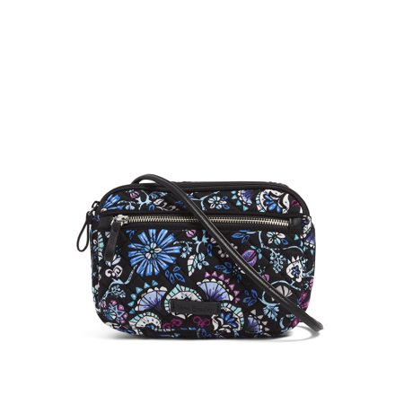 Vera Bradley Iconic RFID Little Crossbody Brocade Red Bag