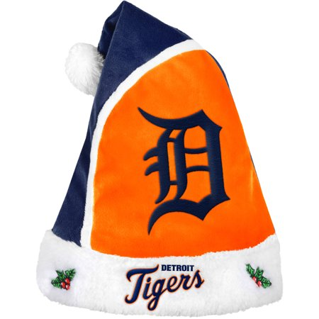 Forever Collectibles MLB 2015 Santa Hat, Detroit Tigers