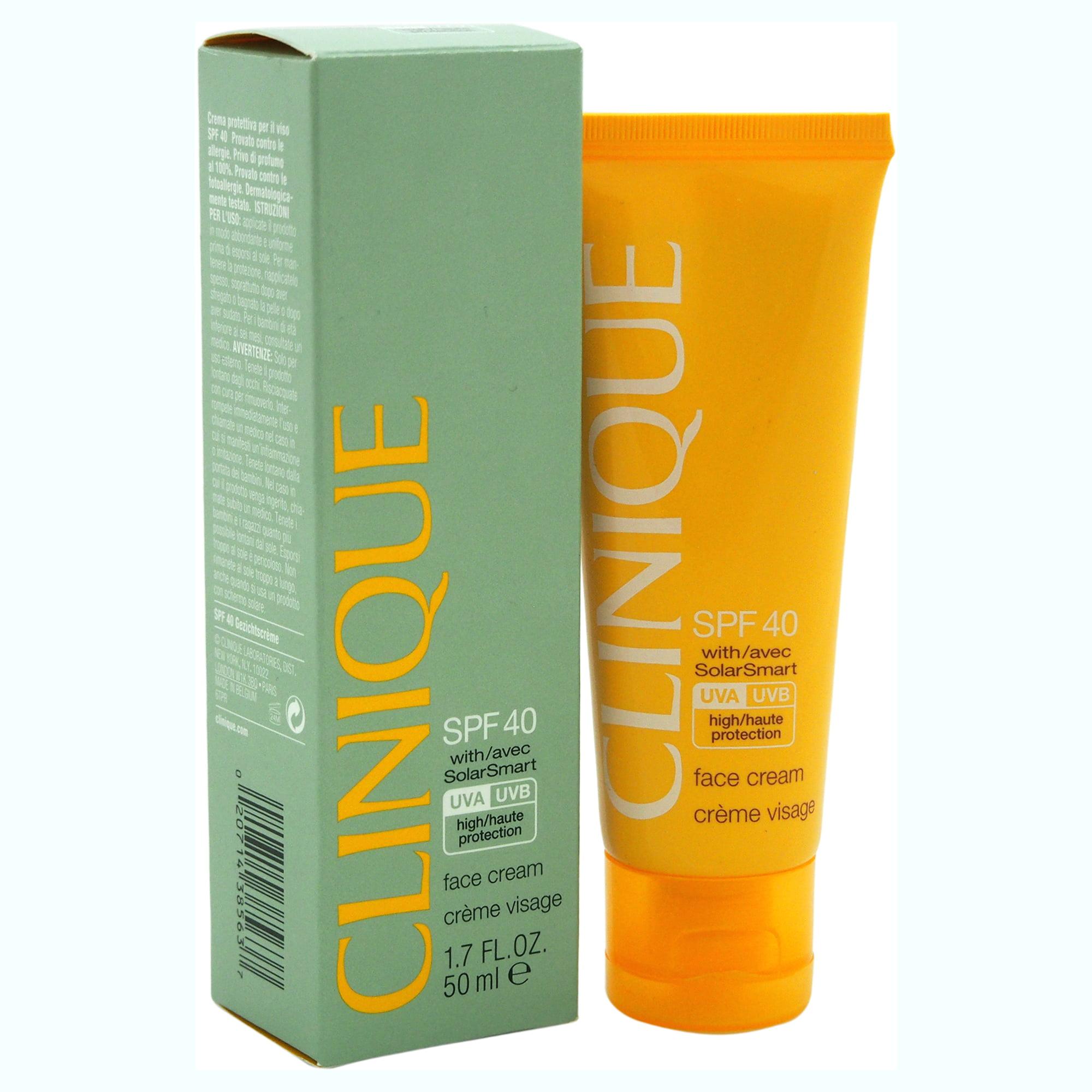 Clinique Face Cream SPF 40 by Clinique for Unisex - 1.7 oz Sunscreen
