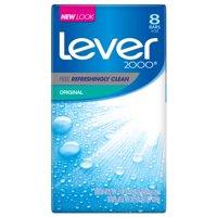 Lever 2000 Original Bar Soap, 4 oz, 8 Bar