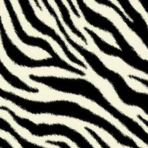 SheetWorld Fitted Oval (Stokke Mini) - Zebra
