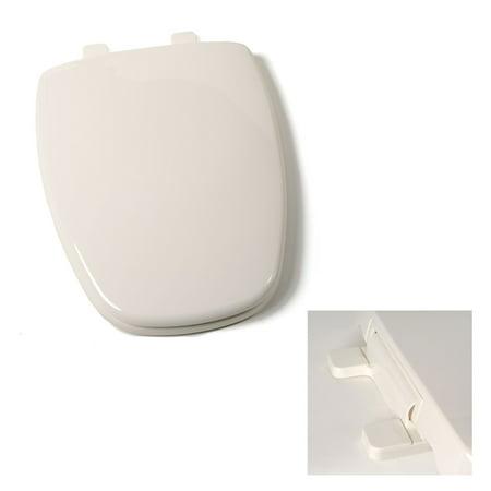 deluxe plastic square slow close bone elongated toilet. Black Bedroom Furniture Sets. Home Design Ideas
