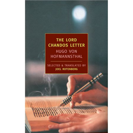 The Lord Chandos Letter : And Other Writings (The New York Stories John O Hara)