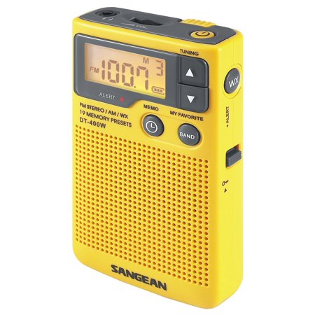 Noaa Weather Radio, Sangean Dt-400w Am Fm Station Radio Weather Alert,