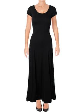 bf28c3f5 Product Image Lauren Ralph Lauren Womens Fadrina Jersey Scoop Neck T-Shirt  Dress