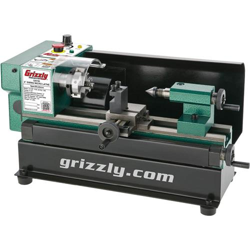 "Grizzly G0745 4"" x 6"" Micro Metal Lathe"