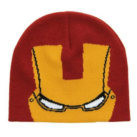 The Avengers Iron Man Knit Beanie