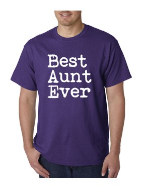 3d7ad560 Product Image Allwitty 1081 - Unisex T-Shirt Best Aunt Ever Family Funny  Humor