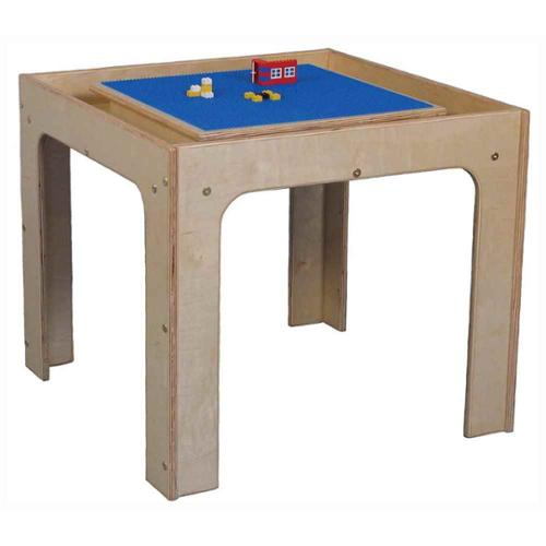 Kids Table Toy Play Center in Natural Maple (Toddler)