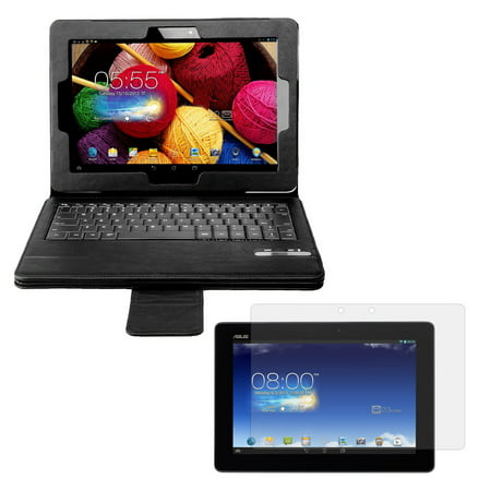fae8b5409c8 Bluetooth Keyboard Folio with Screen Protector for ASUS MeMO Pad FHD 10 -  Walmart.com