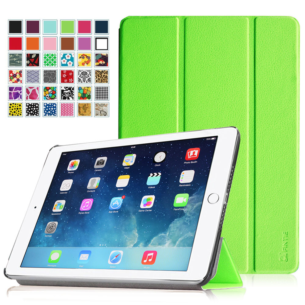 Fintie iPad Air 2 Case - SlimShell Cover with Auto Wake / Sleep for iPad Air 2, Green