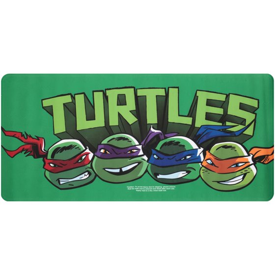 Nickelodeon Age Mutant Ninja Turtles Tub Mat Pack