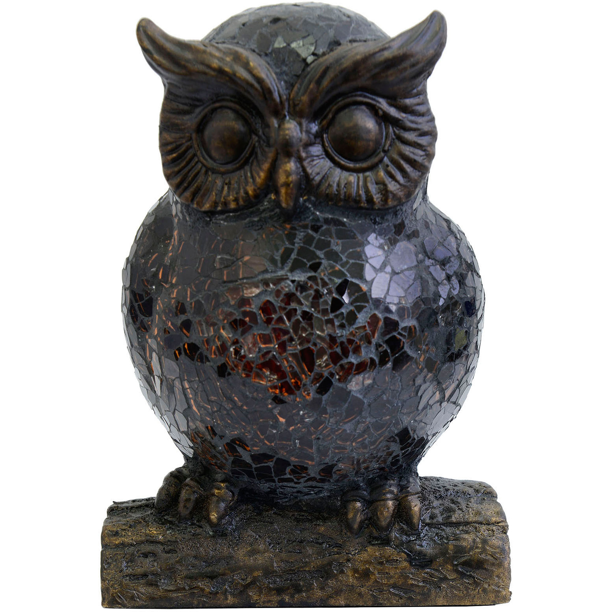 Vintage owl lamps - Better Homes And Gardens Bronze Resin Owl Night Lamp