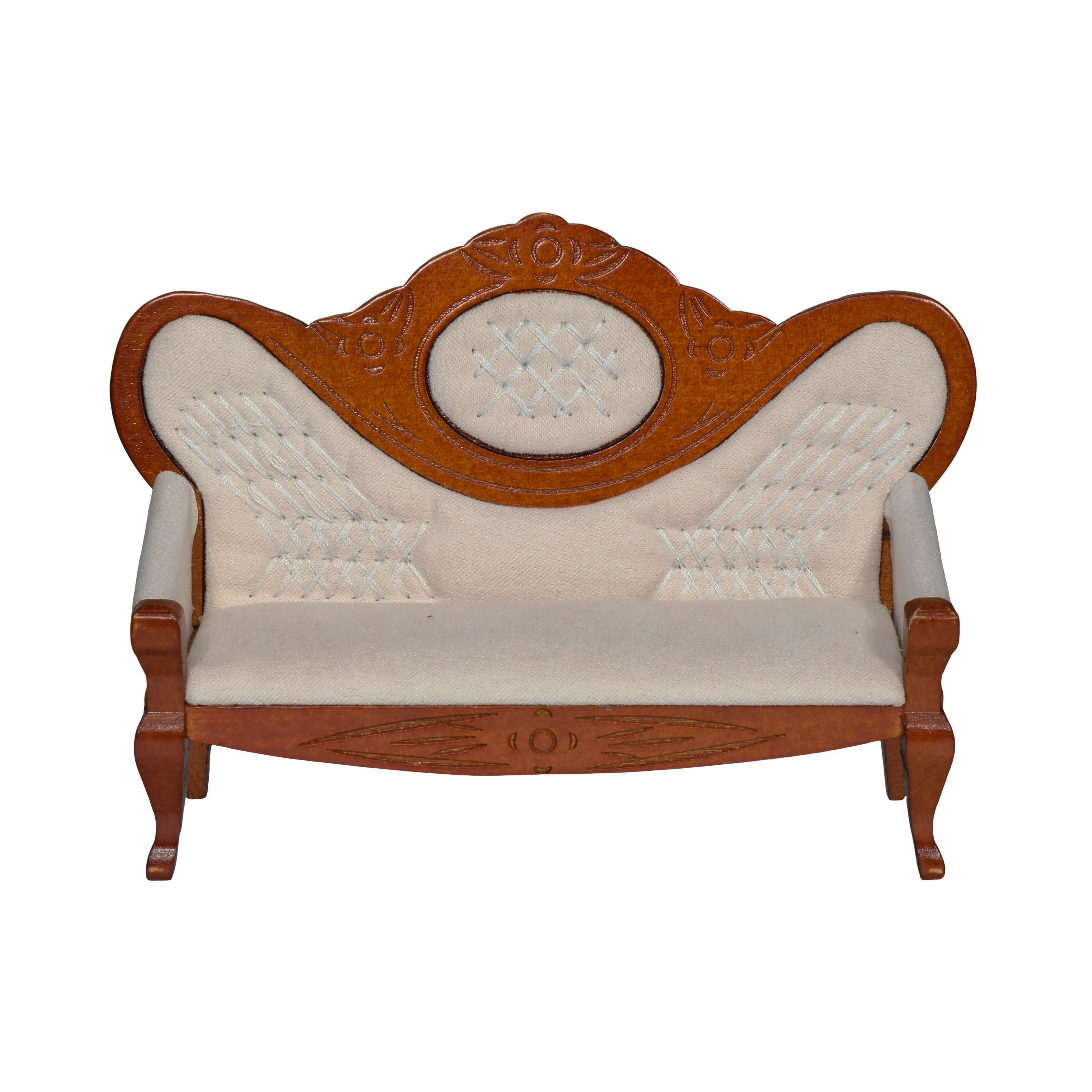Dollhouse Accessories and Furniture Sets 1:12 Scale Miniature Doll House Sofa