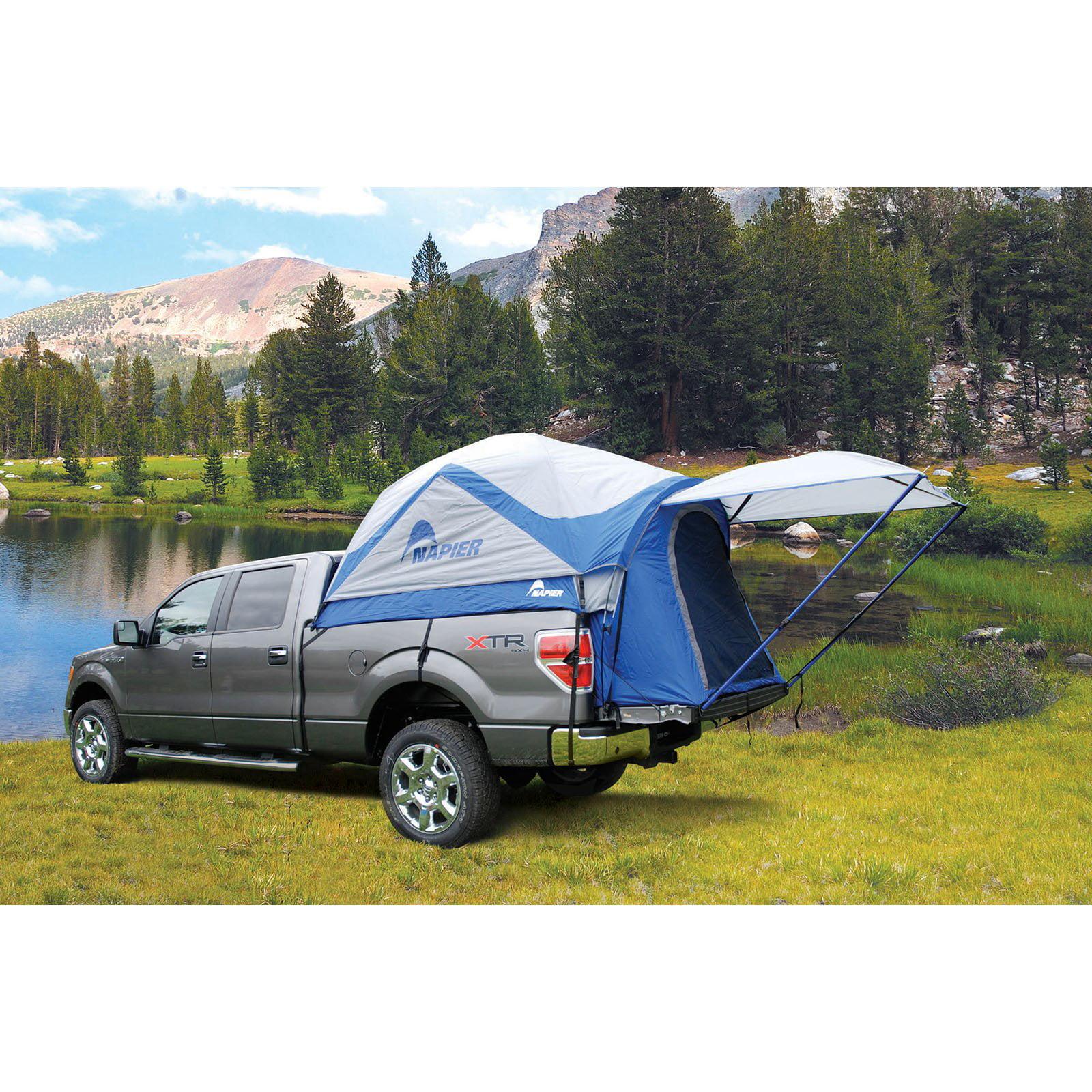 Napier Outdoors Sportz #57011 2 Person Truck Tent, Full Size Long Bed, 7.9 8.2 ft. by Napier Enterprises