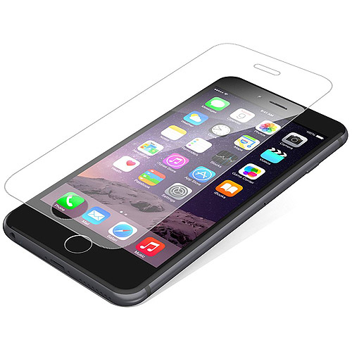 ZAGG InvisibleShield HDX Screen Protector for Apple iPhone 8 Plus, iPhone 7/7S Plus, iPhone 6/6S Plus