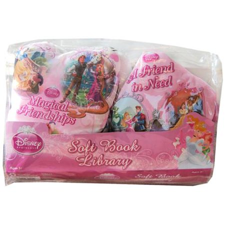 Disney Soft Book Library 2 Pack Disney Princess