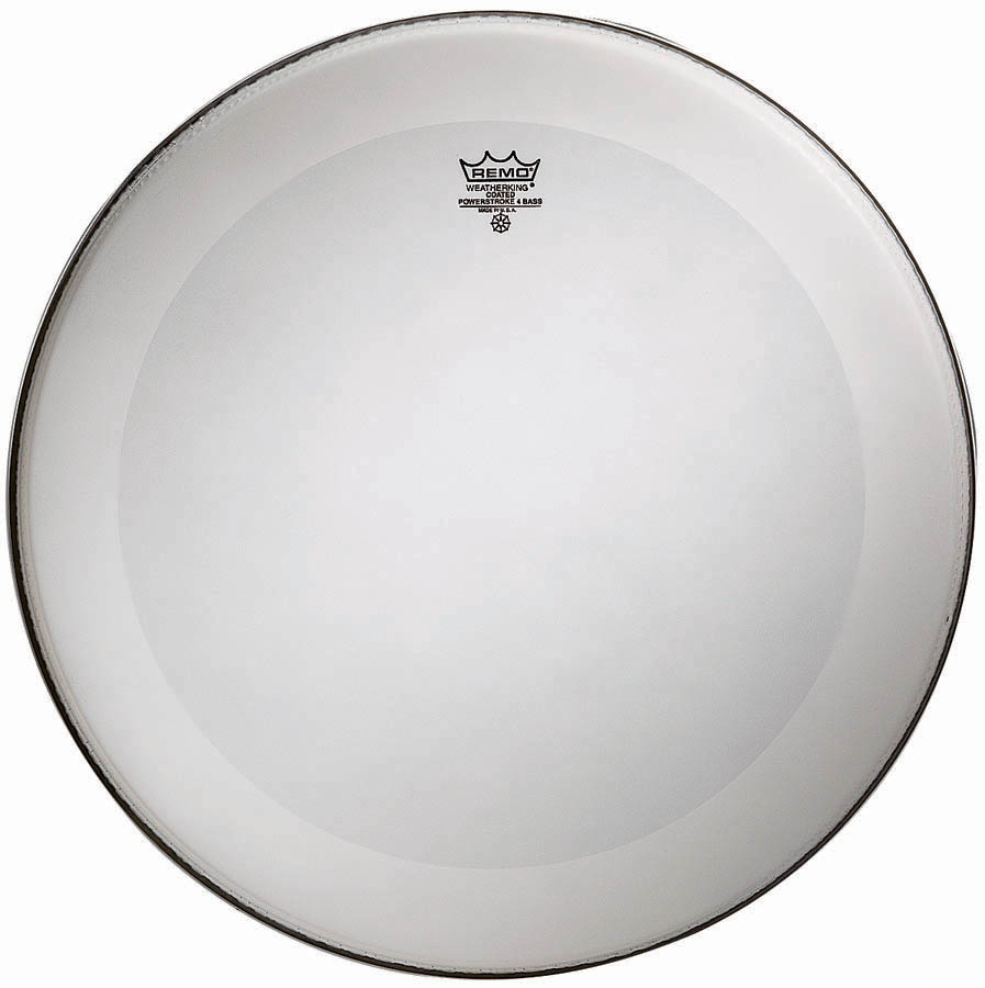 Remo Powerstroke 4 Bass Drum Head with Falam Patch