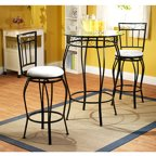Dorel Living Isla 3 Piece Counter Height Dining Set With