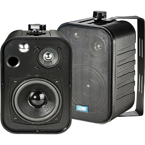 "TIC 5"" 40-Watt Outdoor Patio Speakers - Black, Pair"