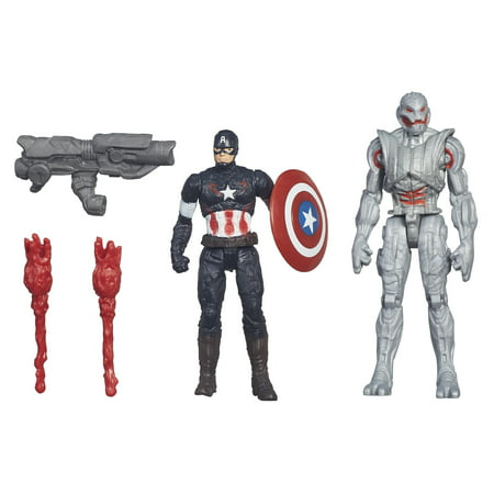 Captain America vs Ultimate Ultron Action Figure 2-Pack Marvel
