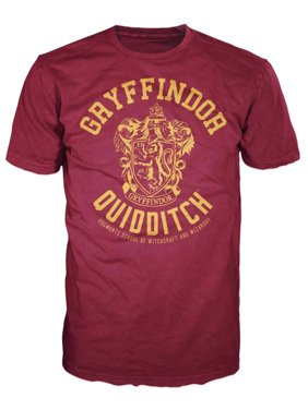 Harry Potter Gryffindor Quidditch Adult T-Shirt