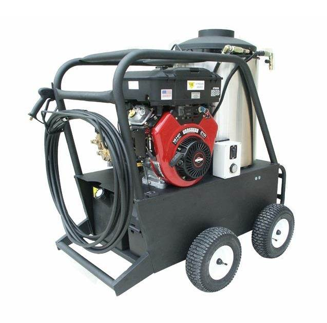 Q Series 16 HP Oil Fired Hot Water Pressure Washer