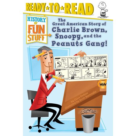 The Great American Story of Charlie Brown, Snoopy, and the Peanuts Gang! - eBook