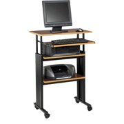 Safco, Muv Stand-up Adjustable Height Desk, 1 Each