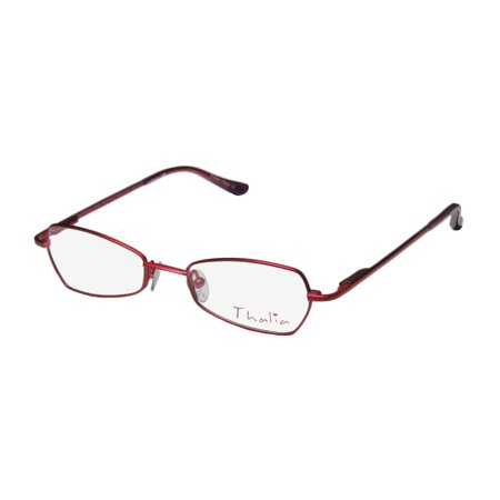 New Thalia Vibi Childrens/Kids/Girls Designer Full-Rim Red ...