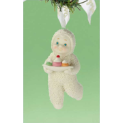 Department 56 Snowbabies Don't Mess with Dessert  Ornament  2012