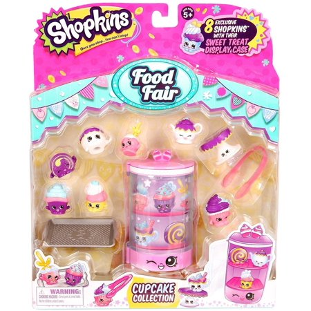 New Theme Collection - NEW Shopkins Food Themed Pack Cupcake Collection B12
