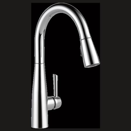 Delta Essa Single Handle Pull Down Kitchen Faucet Walmart Com