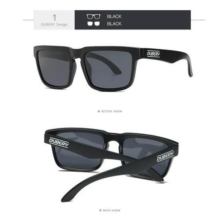 0cbd63438f DUBERY Polarized Sunglasses Men Sports Running Fishing Golfing Driving  Glasses - Walmart.com