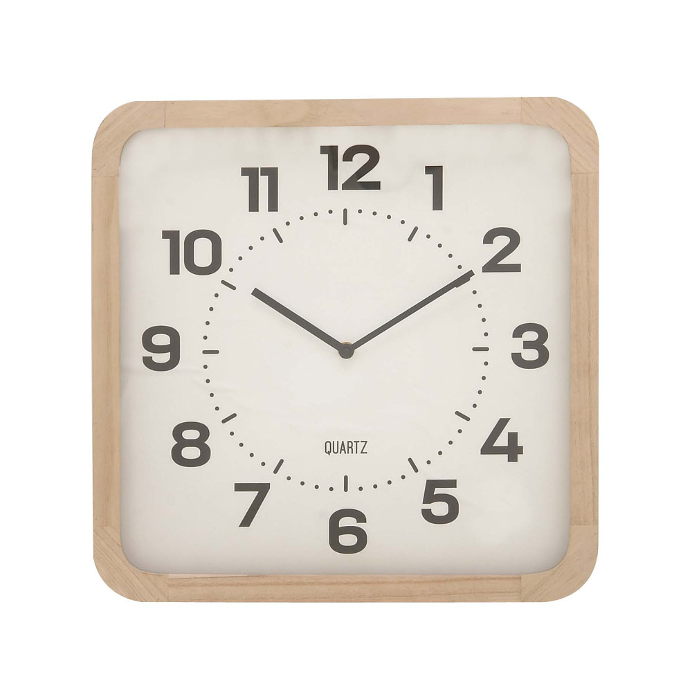 Divine Wood Table Clock by Benzara